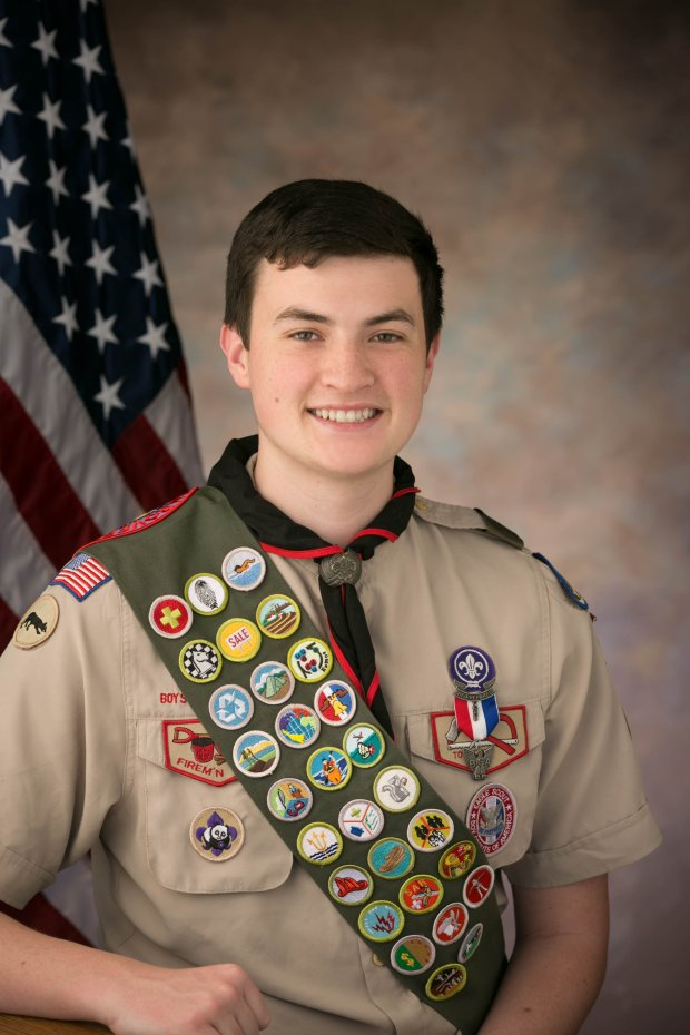 James Brian StudiosPatrick Jensen, 17, of College Park High School in Pleasant Hill, was recently awarded his Eagle Scout Award.