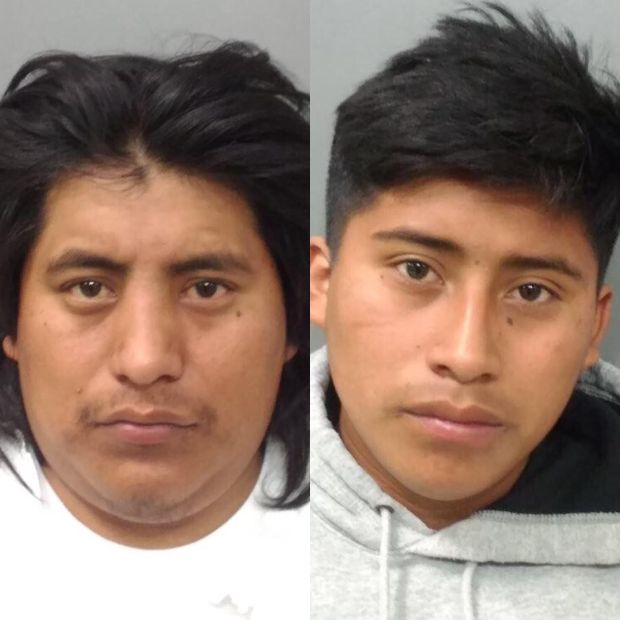 Richmond police shared these images Thursday, May 10, 2018 of 24-year-old Adrian Domingo, left, and 18-year-old Omar Domingo, right.