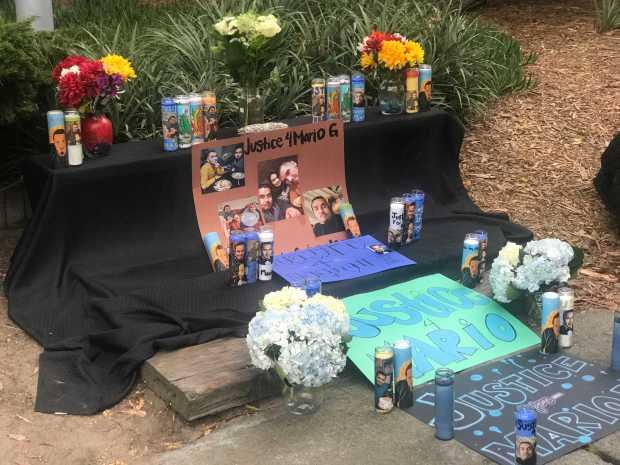 Alameda: Vigil remembers man who died in police custody
