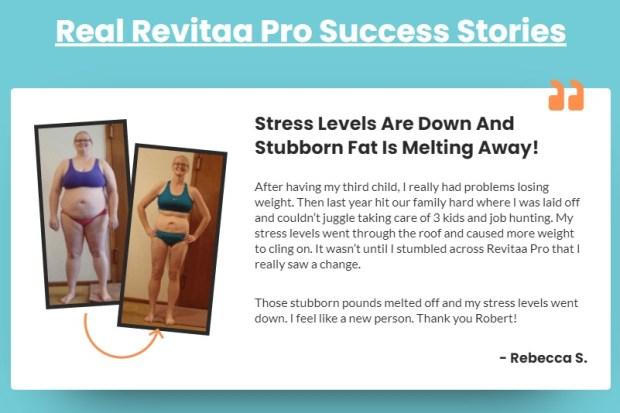 Real Revitaa Pro Success Stories
