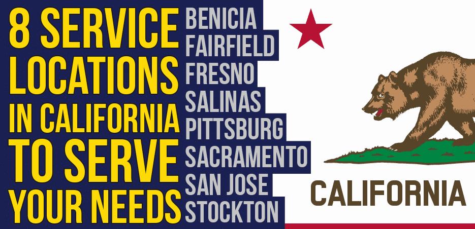 8 locations