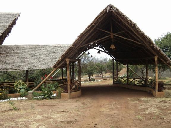 African Sunrise Lodge Entrance