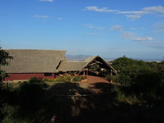 African Sunrise Lodge Outside