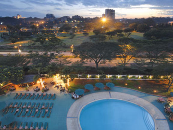 InterContinental Hotel Nairobi Pool View