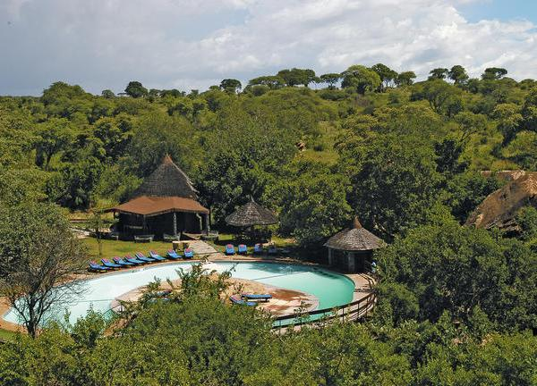 Tarangire Sopa Lodge Pool Area