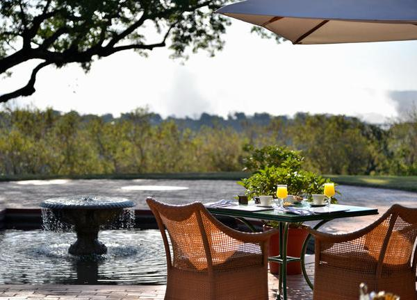 Victoria Falls Hotel Jungle Junction Breakfast
