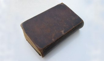 The bible record for the Arthur Butler family was written in a Bible like this.