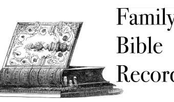 Carraway-Hardison Bible Records