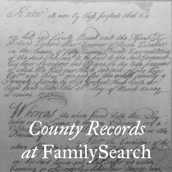 County Records at FamilySearch