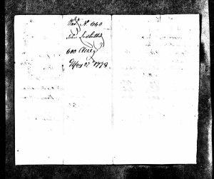 John Ledbetter land grant (1779/1785) - Wake County, NC