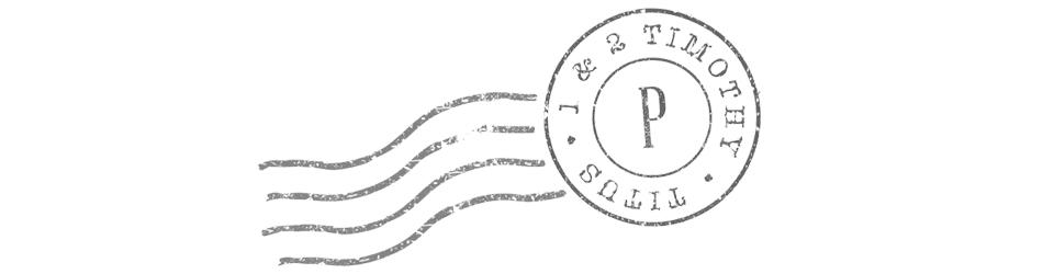 Paul's Pastoral Letters Archives | East Charlotte Pres