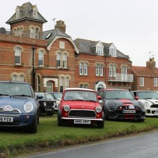 East Coast Mini Club Charity Run – end point – Southwold 2