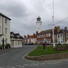 East Coast Mini Club Charity Run – end point – Southwold 7