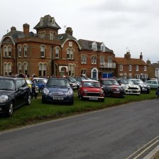 East Coast Mini Club Charity Run – end point – Southwold 10
