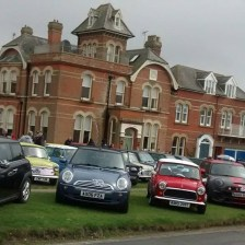 East Coast Mini Club Charity Run – end point – Southwold 20