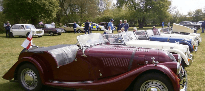 ECMC goes to Kersey Mill Auto Show 2018