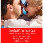 Half-Day Fishing for Father's Day in Beaufort