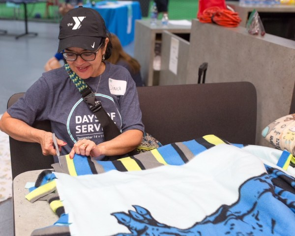 Cobb YMCA volunteers