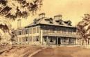 The Sylvester Manor house circa 1870