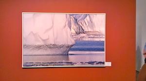 Diane Tuft's portrait of a glacier.