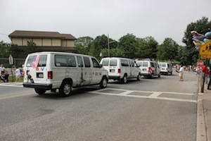 This is a lot of vans for disabled veterans.