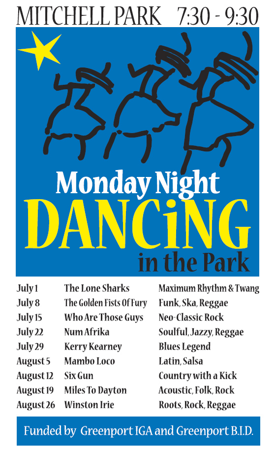 Who Are Those Guys at Greenport's Dancing in the Park | East End Beacon