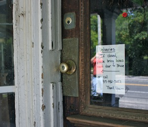The Down Home Store in Cutchogue, where Albert Einstein mailed a letter to President Roosevelt urging him to use the atom bomb before the Nazis could. You can touch the doorknob Einstein touched any time for free.