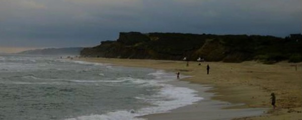 The majority on the East Hampton Town Board don't want to ask the Army Corps of Engineers to help shore up Ditch Plains Beach (pictured above).