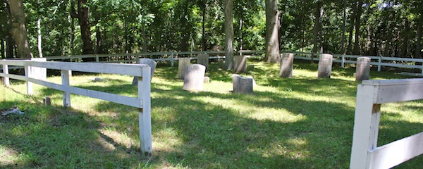 One of East Hampton's more than 30 small family gravesites, scattered mostly through the Northwest Woods and Springs. Ned had originally been the only person interred in a similarly marked graveyard in Springs