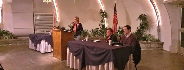 Speakers at Wednesday's Common Core forum