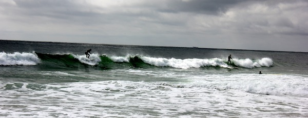 Surfing isn't all you can do in Southampton. There are political debates here too.