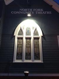 The North Fork Community Theatre's stained glass windows are back | NFCT Facebook photo