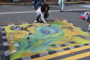 Community Mosaic Street Painting Festival
