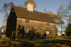 The Old House on the Cutchogue Village Green