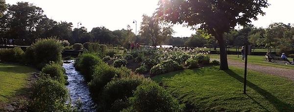Grangebel Park stroll, Riverhead