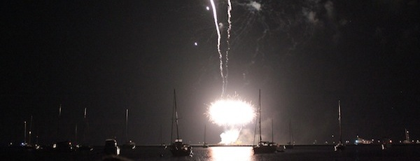 Three fireworks shows will light up the East End's skies this weekend.