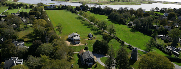 The Gardiner home lot, the original home of one of East Hampton's founding families, will now be in the hands of East Hampton Town | Douglas Elliman photo