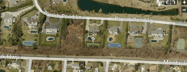 A vacant piece of land in the Parrish Pond subdivision once was the home to the Shinnecock Nation's wampum factory.