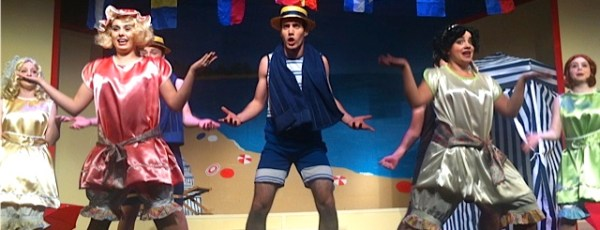 """The boys of NFCT's """"The Boy Friend"""" rehearse for opening weekend."""