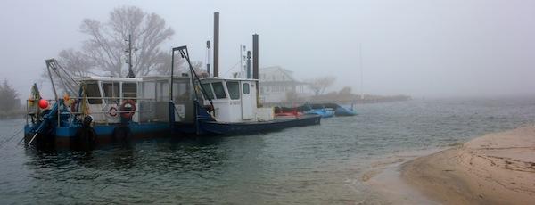 Suffolk County dredge