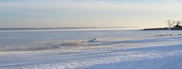 Ice Fog, Flanders Bay