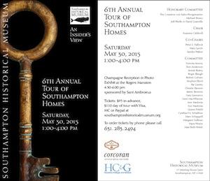 Southampton Historic House Tour