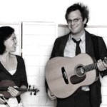 Edith Gawler and Bennett Konesni will perform at the Mattituck-Laurel Library tonight.