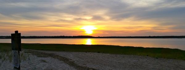 Flanders Bay Sunset