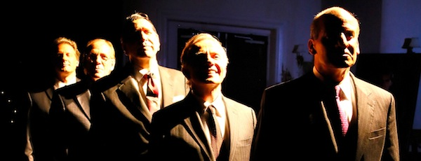 "The cast of Bay Street Theatre's ""Five Presidents 