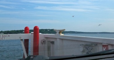 On the North Ferry
