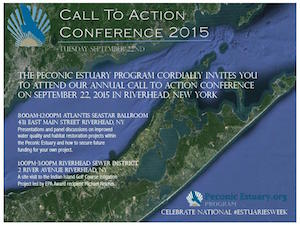 Peconic Estuary Program Call to Action Conference