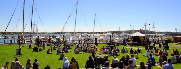 Mitchell Park will be filled with spectators this weekend for Greenport's annual Maritime Festival