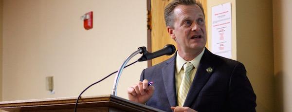 Riverhead Town Supervisor Sean Walter gave his budget presentation this morning.
