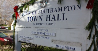 Who will be chosen to fill the bare spot on Southampton's Town Board?